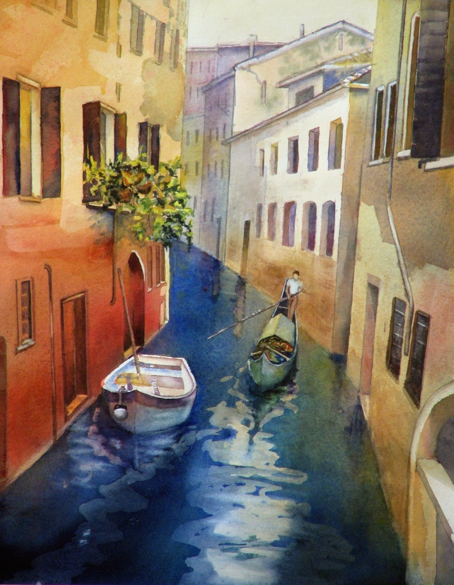Canals of Venice (large view)