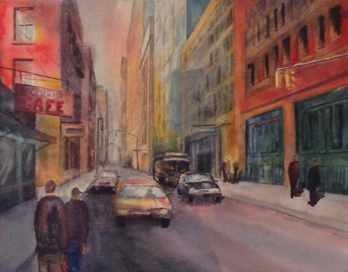 NY City Cafe by Jessica  Wheeler