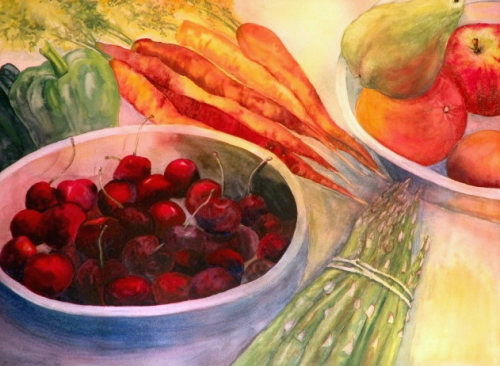 Fruits and Vegetables by Jessica  Wheeler
