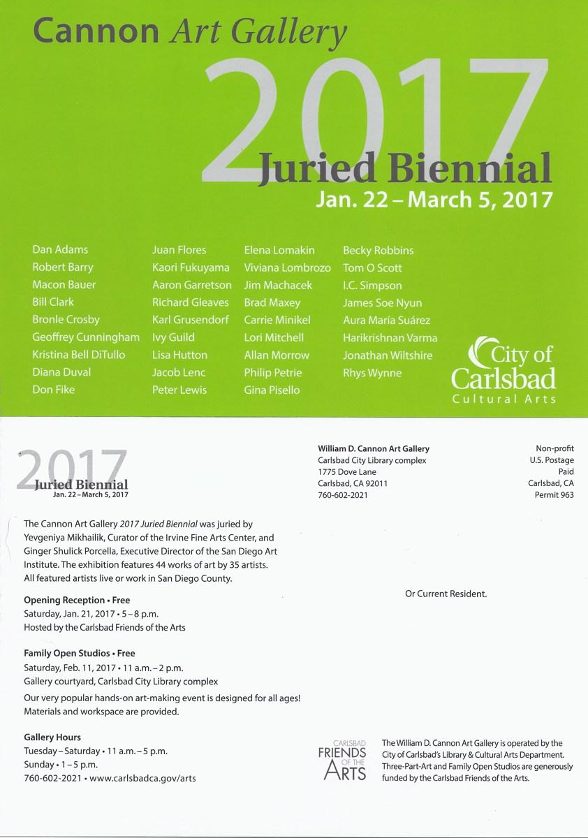 2017 Juried Biennial (large view)