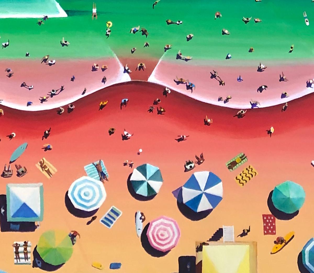 San Diego Beach Summer (detail) (large view)