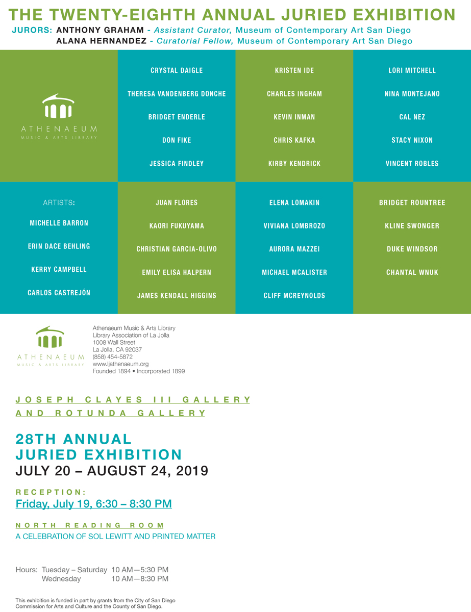 Athenaeum 28th Juried Exhibition (large view)