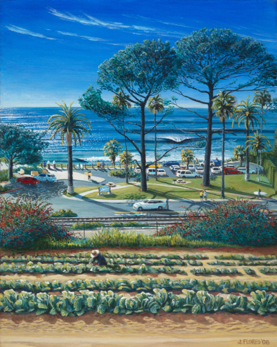 Farming in Encinitas (Swamis)  2008  by Juan Flores