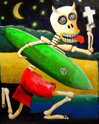 Dia de los Muertos by Juan Flores