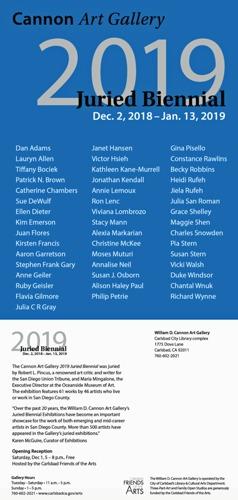 2019 Carlsbad Juried Biennial