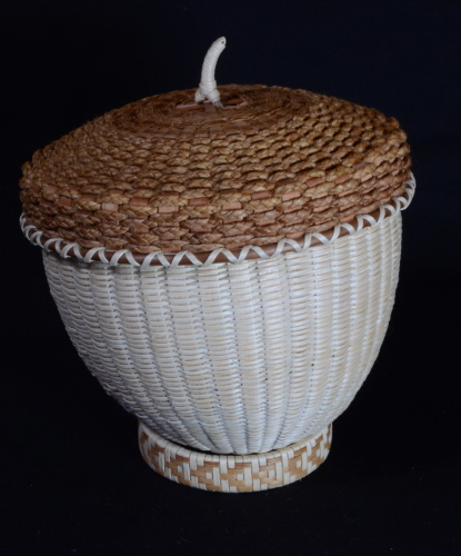 Acorn baskets by Jeremy frey