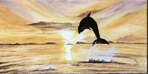 Dolphin's Surprise