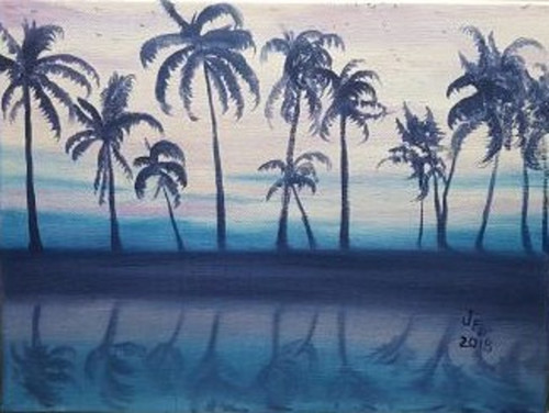 Crystal Blue Reflection