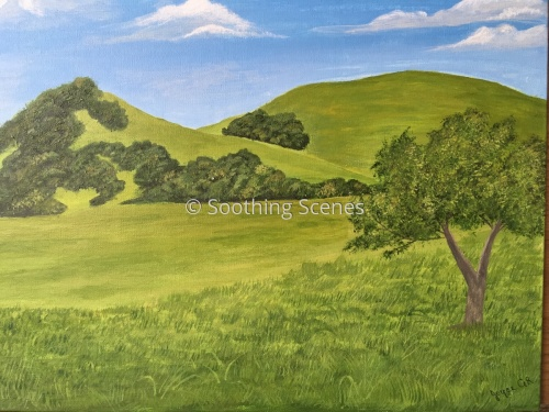 Happy Hills by Soothing Scenes by Joyce GR