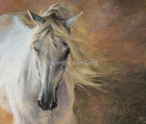 Pendragon by Julie Greig Fine Art