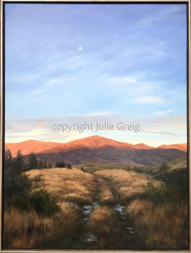 Daybreak Over the Dunstan Mountains