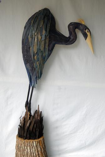 Blue Heron Stalking