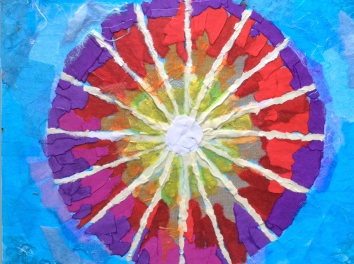 Wheel Mandala by Jan M. Hampton