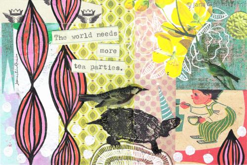 More Tea Parties by Jana Clinard Harris