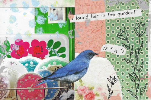 In The Garden by Jana Clinard Harris