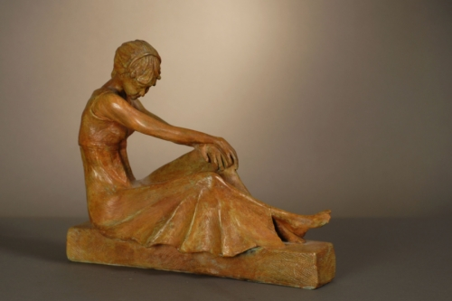 Art Deco Figure (large view)