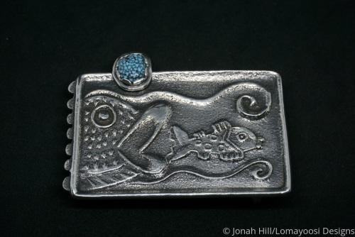 Bigger Fish buckle by Jonah Hill/Lomayoosi Designs