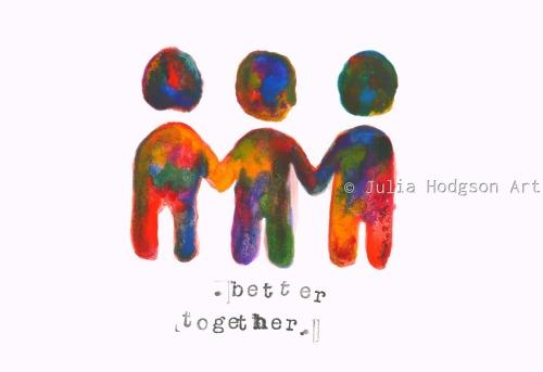Better together (sticker)