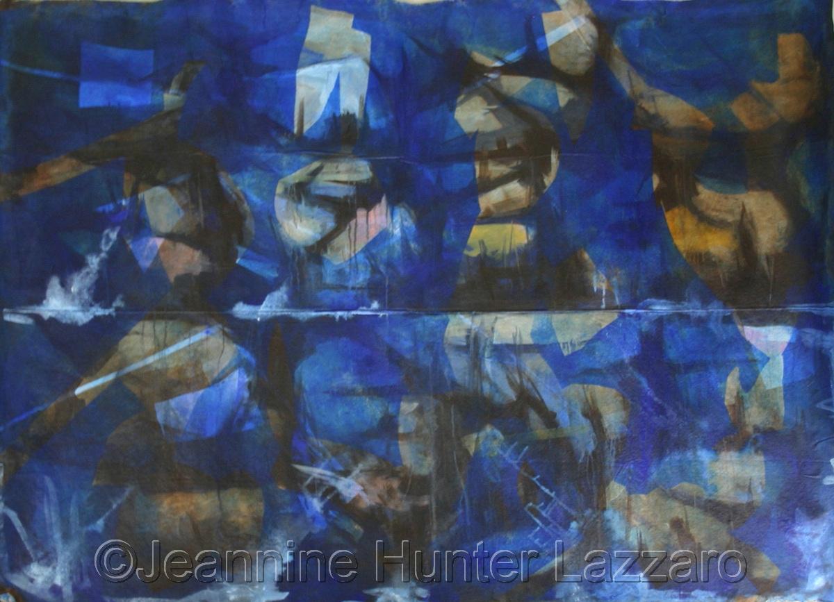 Blue Trash Pile -Excavation series (large view)