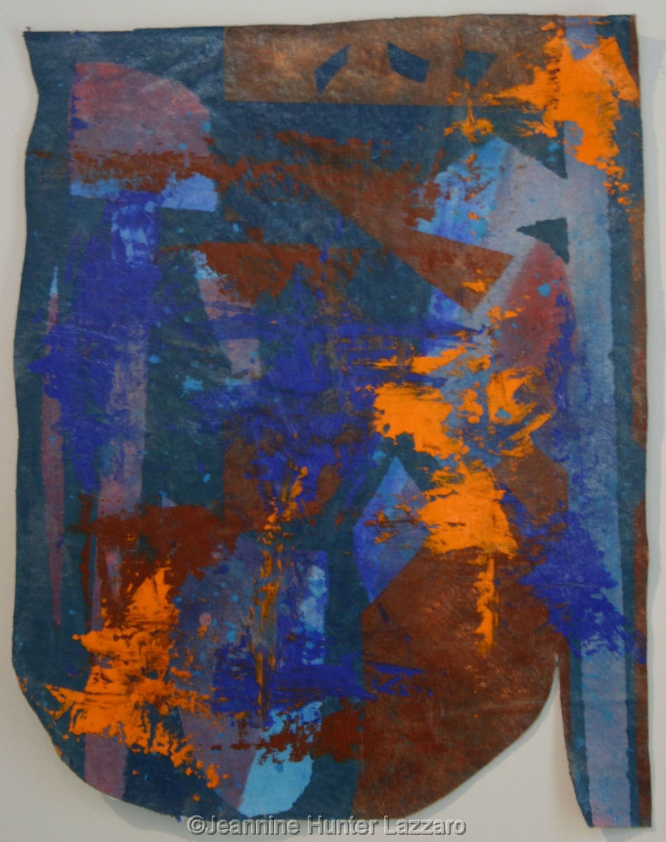 Blue and Orange Shield (large view)