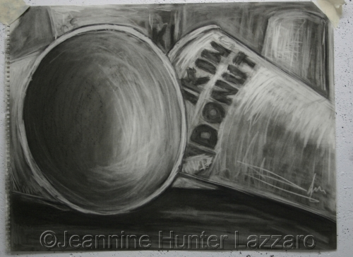 Cups charcoal