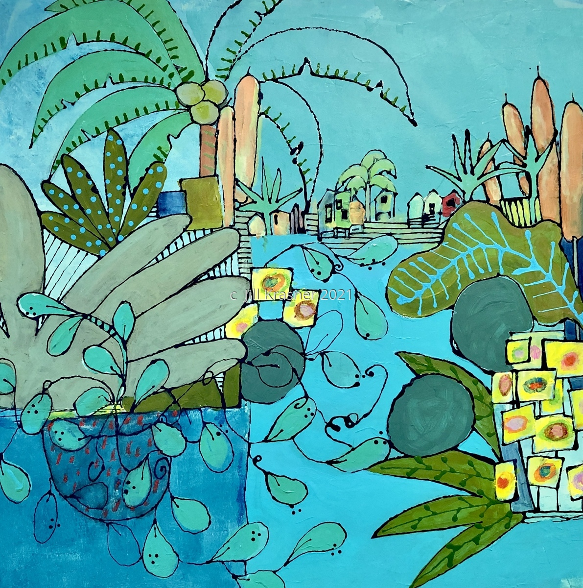 Tropical Beach Village (large view)