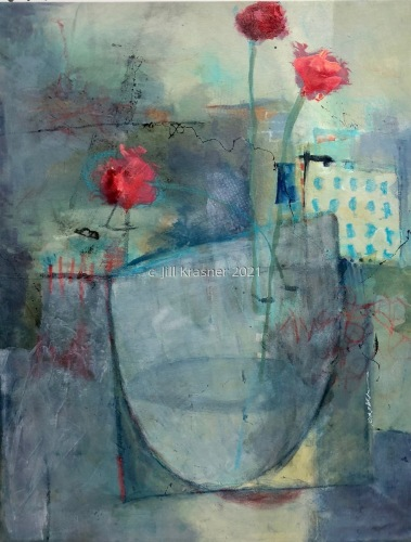 Red Carnation by jill krasner gallery