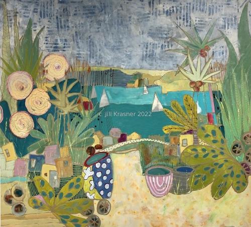 PARADISE VILLAGE by jill krasner gallery