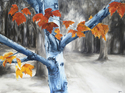 Blue Tree, 2002. Oil on canvas (thumbnail)