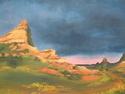 Utah Landscape, 2001. Oil on canvas (thumbnail)