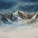 Majestic Mountains, 2006. Oil on board (thumbnail)