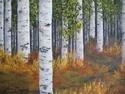 Aspen Hike, 2007. Oil on canvas (thumbnail)