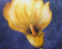 Yellow Lily, 2006. Oil on canvas (thumbnail)