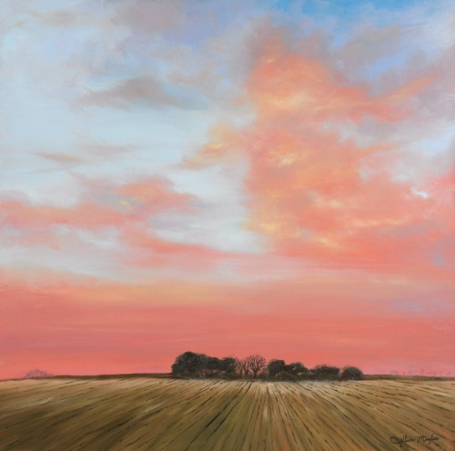 English Sunrise, 2014. Oil on canvas