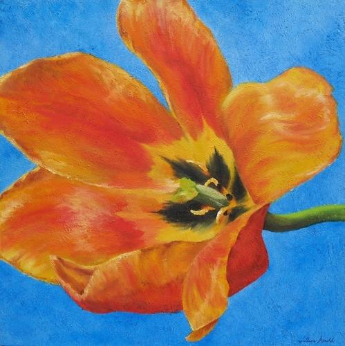 Tulip, 2007. Oil on canvas