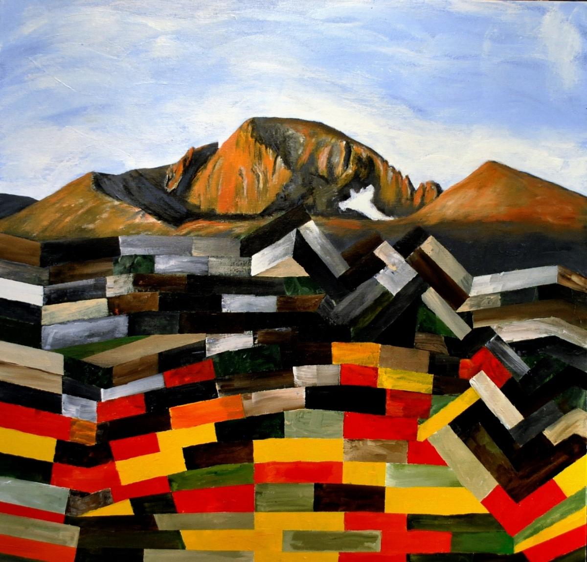 The Colors of Longs Peak (large view)