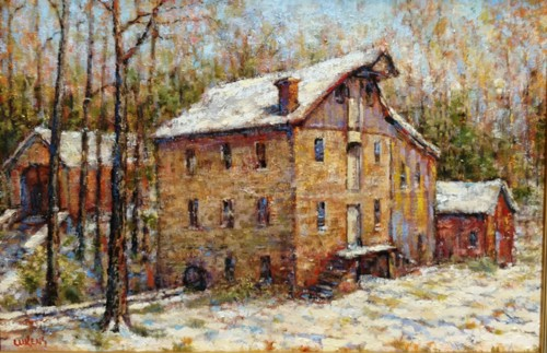 Clymer Mill , Winter