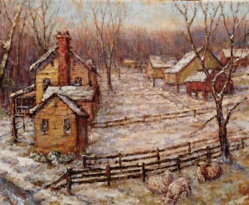 Springtown Snow