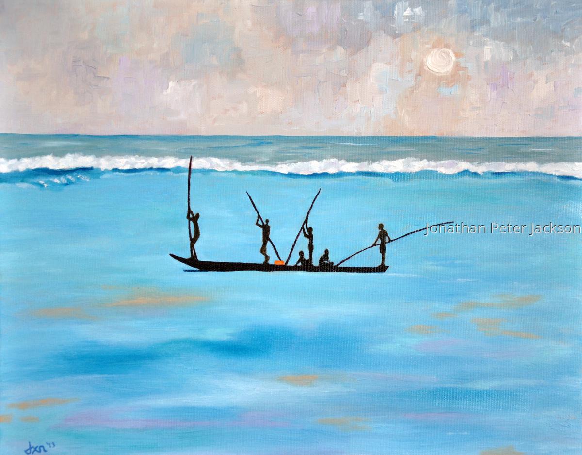 Zanzibar Fishermen II (large view)