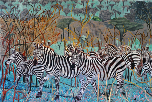 Zebras of the Serengeti