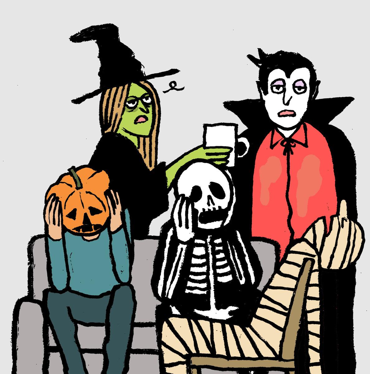 Halloween Hangover (large view)