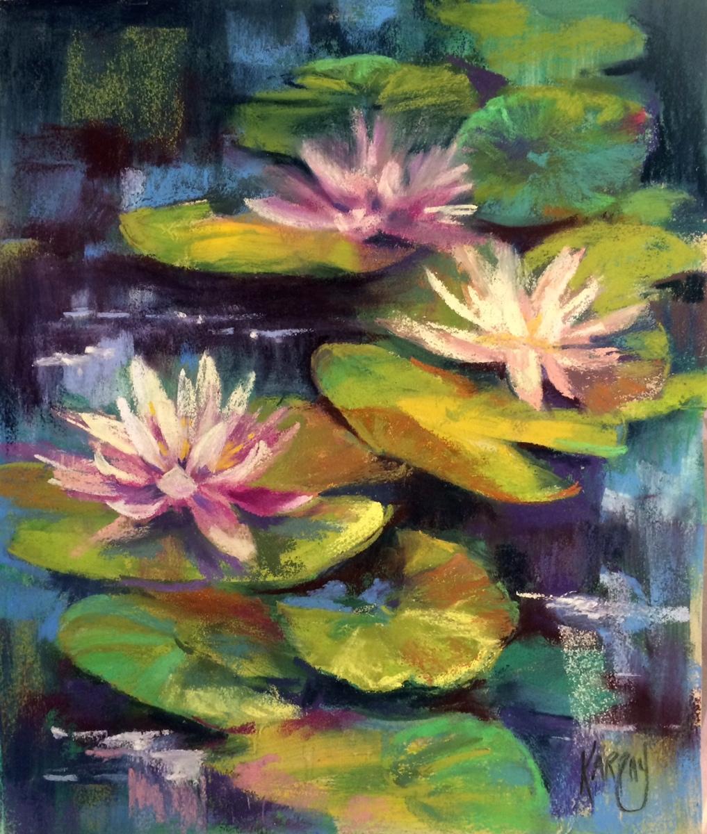 Three Lotus Beauties (large view)