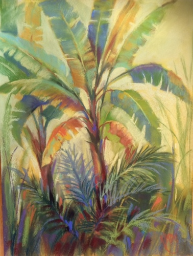 Tropical Splendor II,  Pastel (large view)