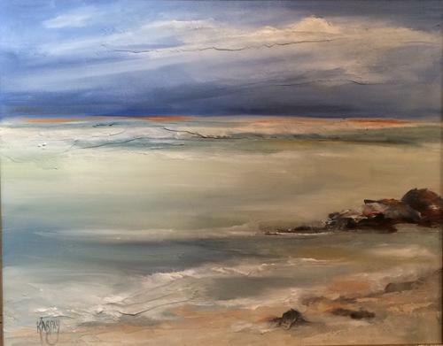 Calm Shore by Joanna Karpay Fine Art
