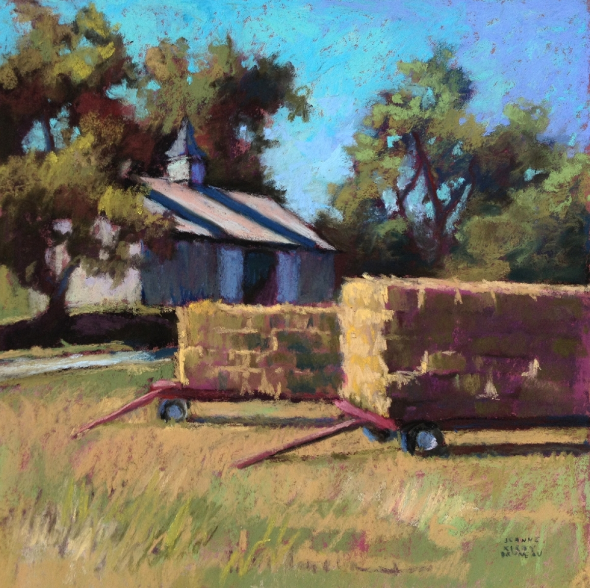 Hay Wagons (large view)