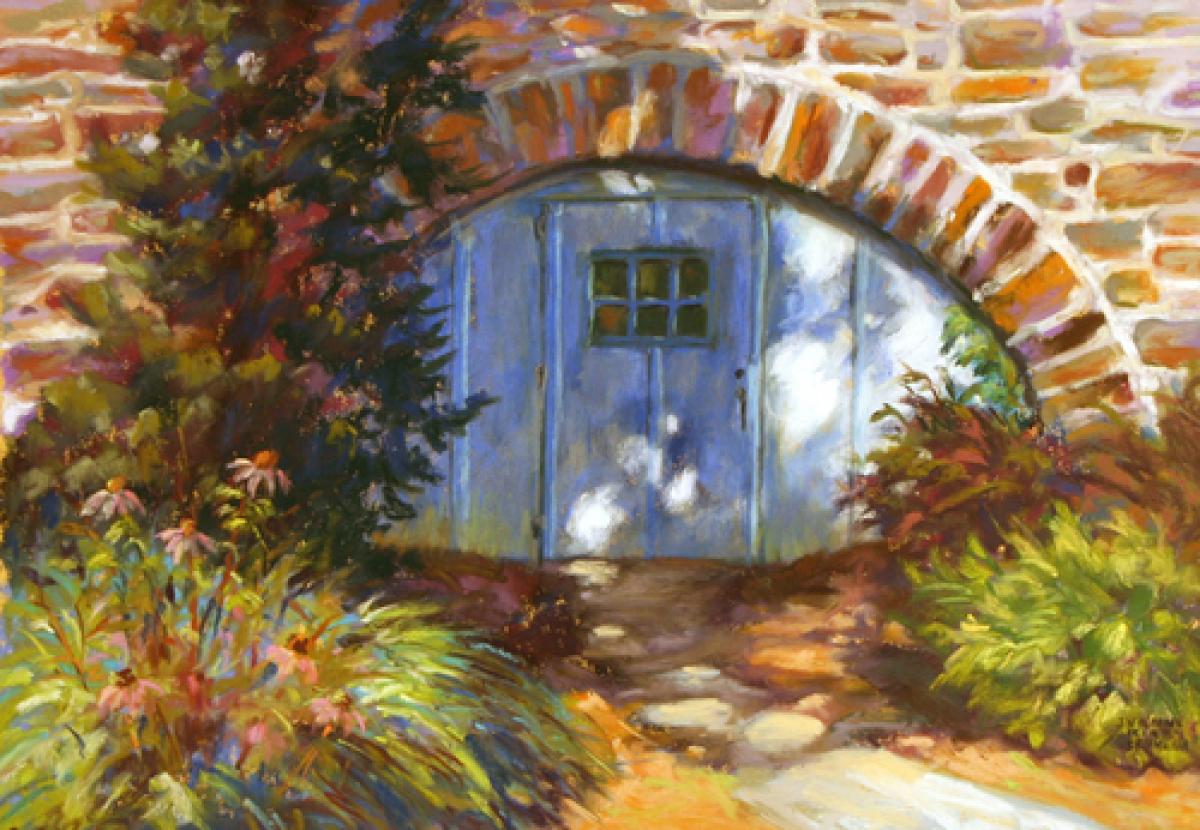 The Secret Door (large view)