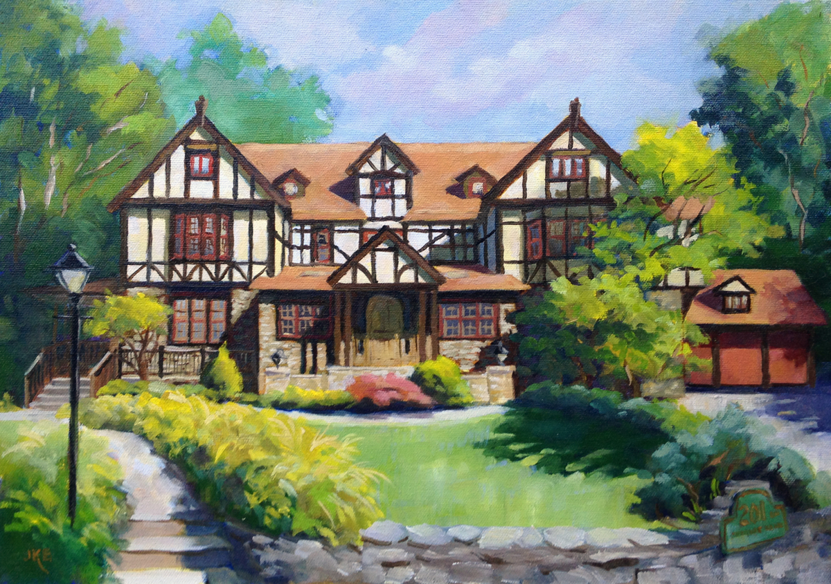 Tudor Home (large view)