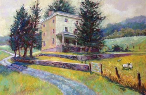 Kuerner Farm by Jeanne Kirby Bruneau