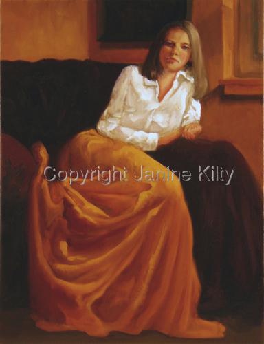 The Gold Skirt