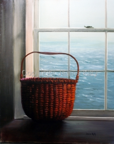 Still Life With Nantucket Basket
